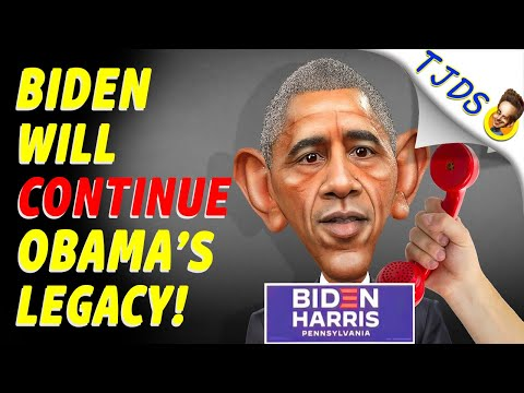 Obama Says Biden Will Continue His Legacy!