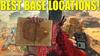 ARK: SCORCHED EARTH   BEST BASE LOCATIONS!