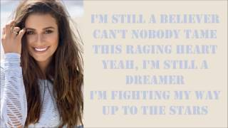Lea Michele ~ Believer ~ Lyrics