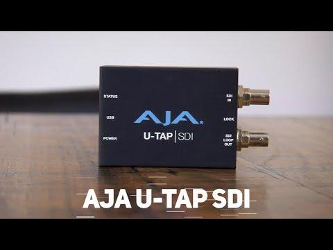 Aja U Tap USB 3.0 Powered SDI And HDMI Video Capture