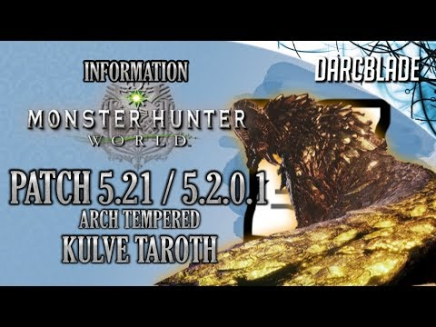5 21 patch is out on ps4 :: MONSTER HUNTER: WORLD General