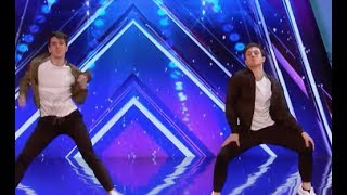 Twin Brother Mirror Image Performs Dazzle the Judges | Week 6 | America