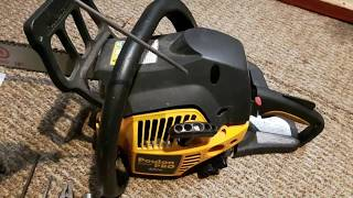 How to change chain saw coil to fix no start stalling or lack of power Poulan Pro engine DIY