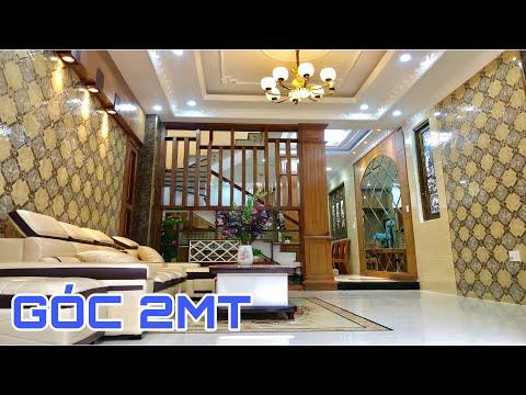 Bán nhà Gò Vấp( 59 )4.2 x 15m Góc 2MT 3 lầu thiết kế đẹp tặng full nội thất  Nhà đất Huy Hùng 6.08 t