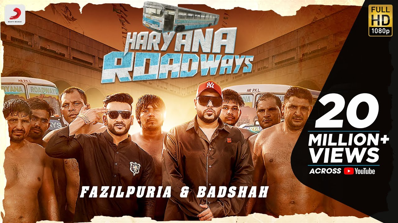 HARYANA ROADWAYS LYRICS - BADSHAH and FAZILPURIA