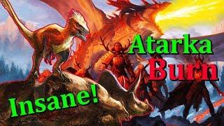 Modern Atarka BURN w/ Rampaging Ferocidon - NEW from IXALAN!