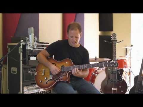 GODIN 5th Avenue CW Kingpin II Cognac Burst Semiakustická kytara