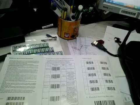 Test Barcode Scanner ทดสอบเครื่องอ่านบาร์โค้ด รุ่น XL9309