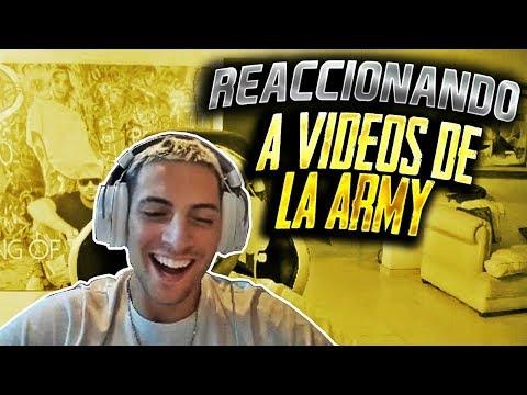 REACCIONANDO A VIDEOS DE LA ARMY