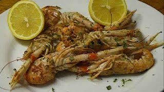 How To Cook LANGOUSTINES,quickly,no Mess,no Fuss.