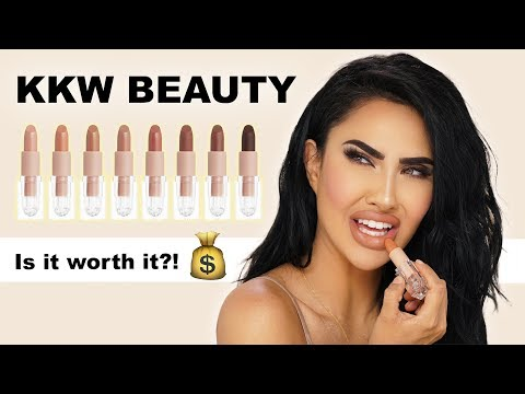 KKW BEAUTY CRÈME LIPSTICKS REVIEW | BrittanyBearMakeup