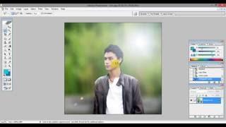Adobe Photoshop CS Tutorial (DSLR Type Image Edit)