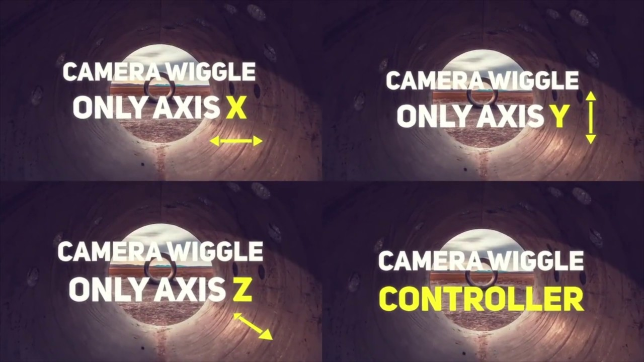Camera Wiggle Controller - After Effects Templates