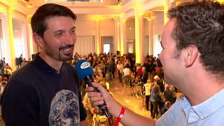 Wauter Mannaert wint de Willy Vandersteenprijs