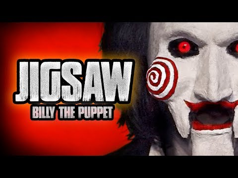 JIGSAW HALLOWEEN MAKEUP TUTORIAL --  Billy The Puppet