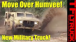Humvee vs JLTV: Here's What It's Like to Drive The New Humvee Replacement Off-Road!