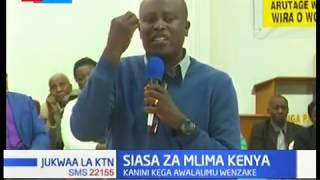 Kanini Kega awasuta vikali viongozi kutoka milima Kenya kwa kumlaumu rais Uhuru