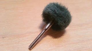 Howto Make An Abrasive Polishing Buff For A Rotary Tool Tutorial