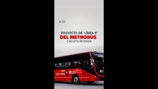 #Proyecto #Línea0 #Metrobús #CircuitoInterior #CDMX #transporte #VideoVertical #Short