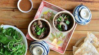 Claypot Grilled Beef - Bò Quanh Lửa Hồng
