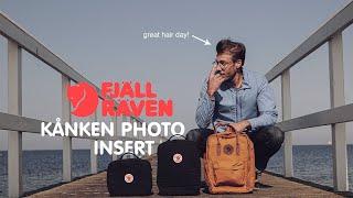 [Fjällräven Kånken] Fjallraven Kanken Photo insert Review - Incognito Camera bag for filmmakers