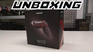 Unboxing: Matrix Neo Akkuschrauber | Für unter 20 Euro! | German