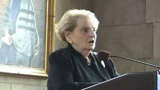 Madeline Albright at Bryn Mawr College