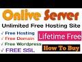 Onlive Server   Lifetime Free Hosting + Free Domain + Wordpress with Free SSL   Web Hosting Provider