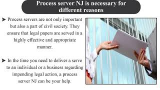 Important Things to Know About a Professional Process Server NJ