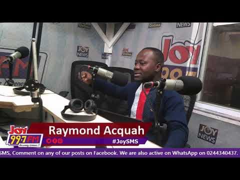 Discussions on #JoySMS - Joy FM (3-8-18)