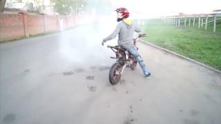 Pitbike Stunt 2017 Kolomna (JMC 140 mx)