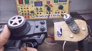 Powerful Wiper Servo with IBT2 (BTS7960)- Without Arduino - Silecek motorundan güçlü servo yapımı