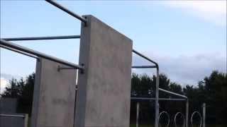preview picture of video 'TAUNTON PARKOUR PARK'