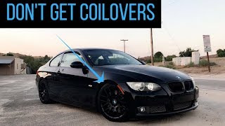 Here Is Why I Would NOT Get Coilovers For My Car