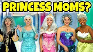 DISNEY PRINCESS MOMS? (Or Are They Under an Aging Spell?) Totally TV.