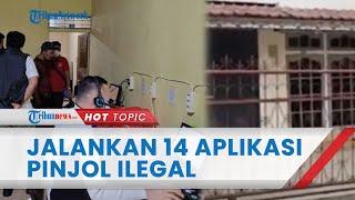 14 Aplikasi Tak Terdaftar OJK Dijalankan oleh Kantor Pinjol di Pontianak yang Digerebek Polisi