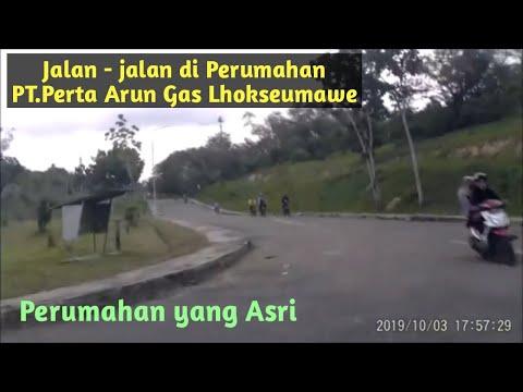 Jalan-jalan di Perumahan PT. Perta Arun Gas Lhokseumawe Part 1