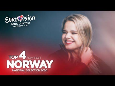 🇳🇴: Eurovision 2020 - Melodi Grand Prix 2020 - Semi-Final 1 - Top 4