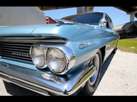 1962 Pontiac Catalina Test Drive Video