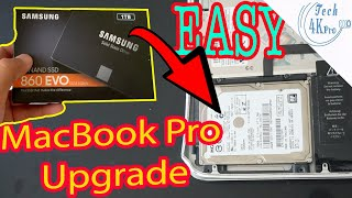 MacBook Pro SSD Upgrade (2011/2012/2013) How to Upgrade MacBook Pro Hard Drive to SSD Tech4kpro