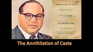 The Annihilation Of Caste English Audio