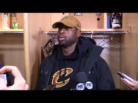 Dwyane Wade talks about being more comfortable in his Sixth Man role with the Cleveland Cavaliers.