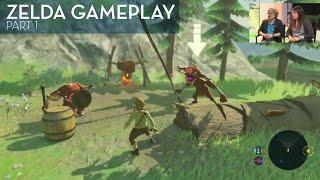 Legend of Zelda: Breath Of The Wild Gameplay (Part 1)