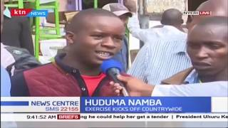 Huduma Namba registration exercises kicks off countrywide