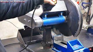 Cutting steel like butter! - Machine build DIY