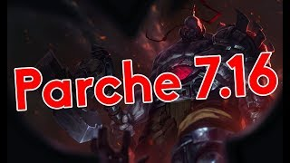 Ojo al parche 7.16 de League of Legends
