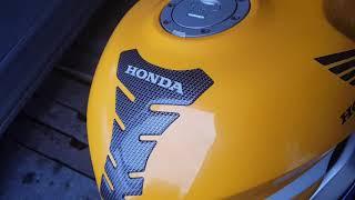 Запуск мота в феврале.HONDA CBR 929 RR