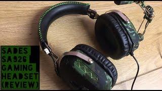 SADES SA926 Gaming Headset (Test & Review)