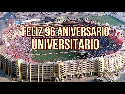 """""""MOLLENDO CREMA EN SUS 6 AÑOS, SALUDA A UNIVERSITARIO DE DEPORTES POR SU 96 ANIVERSARIO"""" Barra: Trinchera Norte • Club: Universitario de Deportes • País: Peru"""