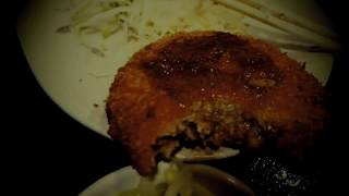 朝ごはんは茄子味噌煮とメンチカツ定食おやつに焼き肉バイキングで晩ご飯はおでんで締めましたので